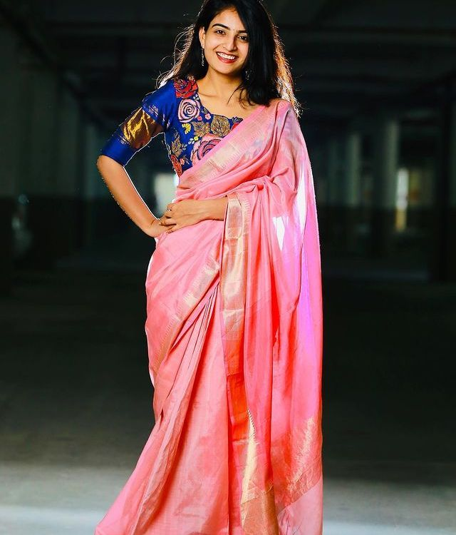 Ananya Nagalla Looks Gorgeous in Traditional Wear