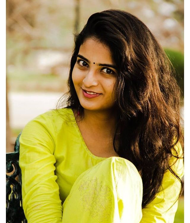 Ananya Nagalla Looks Gorgeous in Yellow Suit